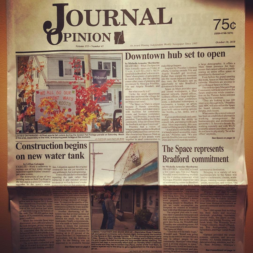 Journal Opinion